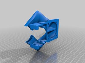 Hero Me Gen5 - 5020 AXIAL Fan Dual Duct Remix on Ender 3 V2