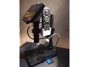 Remote holder for HAYEAR HY-1080 Microscopes Camera