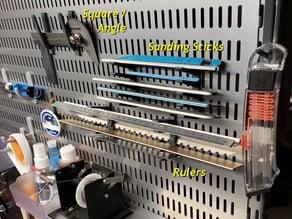 Elfa Utility Board Hooks-Brackets
