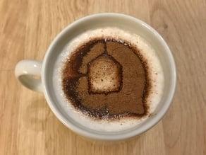 Home Connect Coffee Stencil