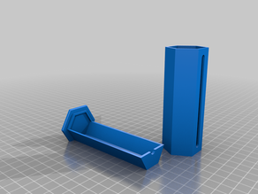 Tube Container 25mm by .9mm NFC tags (Holds 100)