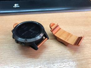 Garmin Fenix 5, 5x, 6, 6x watch Handlebar Mount
