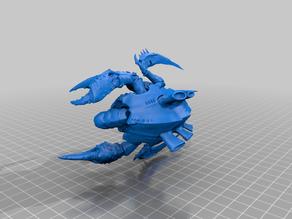 Blind Space Crab