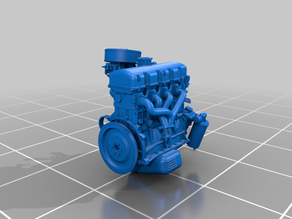 Engine Moskvich- 412