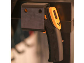 IR thermometer gun holder