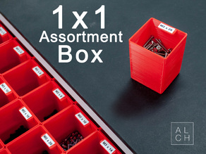 Assortment system box 1x1