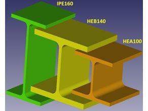 Steel Grinder Factory IPE / HEA / HEB Stahlträgerfabrik