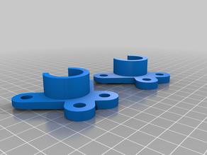 pipe / tube holder for filament box