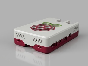 Malolo's screw-less / snap fit  customizable Raspberry Pi 4 Case & Stands