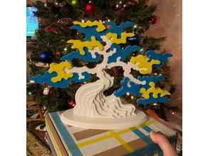 Standing Tree Puzzle