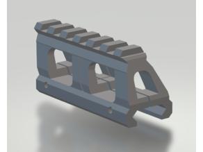 Picatinny rail 20mm to 11mm