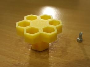 Ender Z-Axis Knob - Honeycomb - Remix