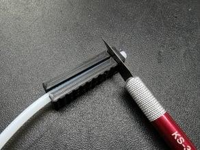 3D printer bowden square cut tool