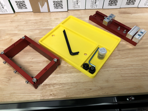 Carbide 3D Flip Jig and Vise Tray