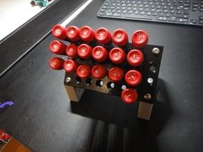 solid screwdriver holder