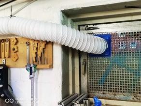 Ventilation for K40 Laser  and 120mm Fan