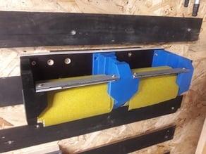 Sand paper holder, Schleifpapier halter