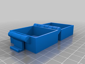 Jason's Customized Buckle Box, Printable In One Piece