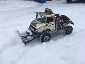 Axial Unimog SCX10.II Snow Plow