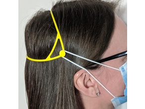 PPE Mask ear strain reliever