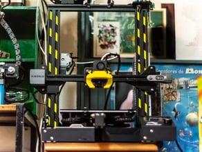 Danger stripes mod for 3D-printer profile
