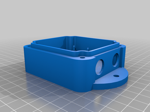 Weatherproof case for NodeMCU with internal mount