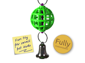 Fully Customizable Bird Toy