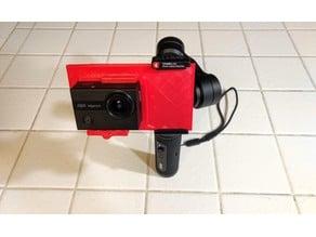 Zhiyun Smooth Q2 Action Camera (Tenker 4K/LD4000) Holder
