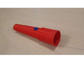 Adapter Teleskopstab / Teleskopstange mit Schraubgewinde an Unger OptiLoc Anschluss (Werkzeuge zur Fensterreinigung / Window cleaning tools)
