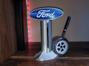 FORD Sign | Pen and Business Card Holder