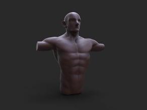 Sketch #6 male anatomy
