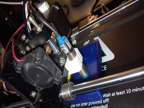 Anet A6 autolevel probe holder