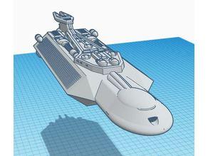 Cardassian Dreadnought Class Hybrid Deep Space Cruiser