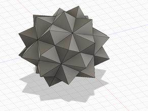 Compound of 5 octahedra