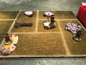 Journeys in Middle-Earth: Shadowed Paths terrain