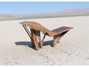 Generative Lounge Chair