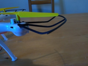 Propeller guard for Syma x5sc