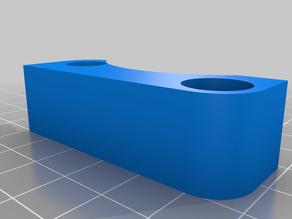 Crosshair laser mount for Stepcraft CNC