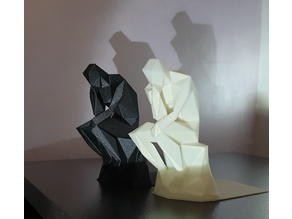 The Thinker Bookend
