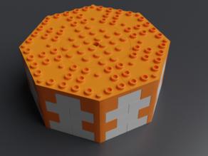 Lego compatible octogonal bricks 12