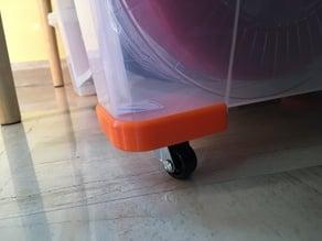 Ikea Samla wheel's base