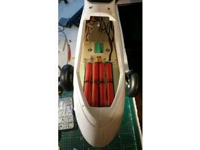 Volantex Ranger EX 757-3 Battery tray plate