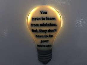 Mistakes Bulb