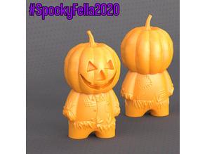 PumpkinHead Scarecrow FillaFella