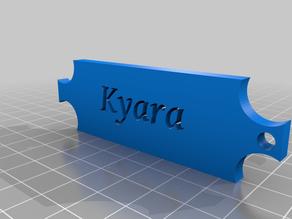 Name Key Chain (Kyara)