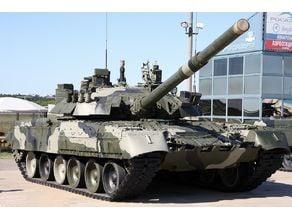 T-80 Soviet MBT Tank