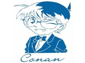 Conan Edogawa stencil