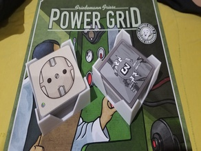 Power Grid Sleeved Card Holder