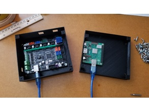 Modular Electronics Case (stackable layers for MPCNC)
