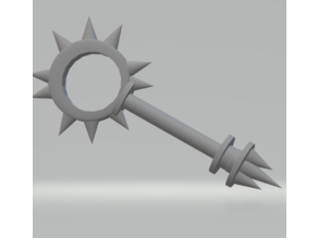 FHW: Sabbat Priest Star Mace ( Vampire the mask Prop)